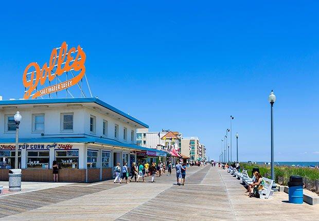 Ciudades costeras turísticas y económicas - Rehoboth Beach