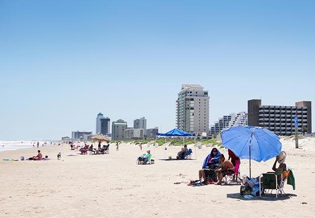Ciudades costeras turísticas y económicas - South Padre Island, Texas.