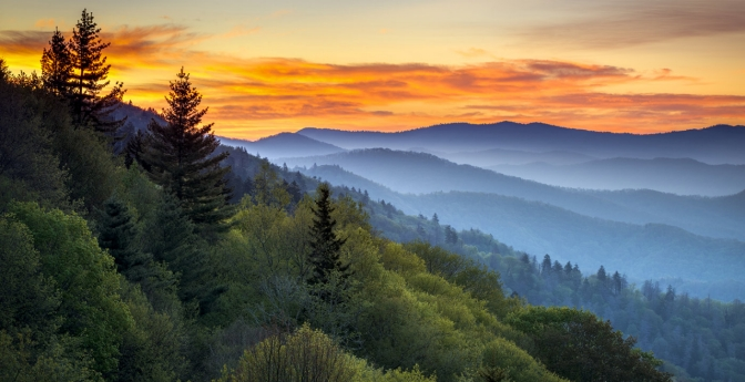 Great Smoky Mountains National Park, Tennessee and North Carolina