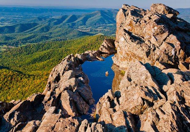 Parque nacional Shenandoah en Virginia - 10 mejores parques nacionales para visitar en el verano