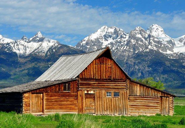 Parque nacional Grand Teton en Wyoming - 10 mejores parques nacionales para visitar en el verano