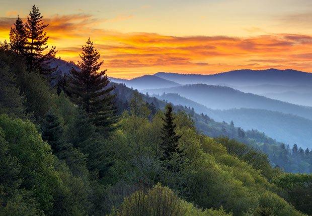 Parque nacional Great Smokey - 10 mejores parques nacionales para visitar en el verano