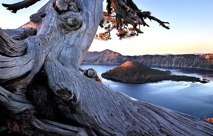 Parque nacional Crater Lake en Oregon - 10 mejores parques nacionales para visitar en el verano