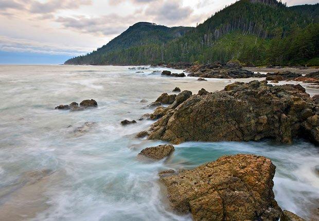 Tormenta en Vancouver, British Columbia  - 11 Vacaciones de otoño en las que usted nunca pensó