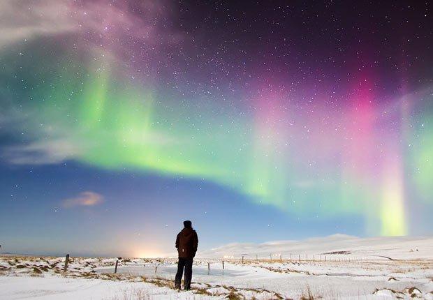 Aurora Boreal, Islandia - 11 Vacaciones de otoño en las que usted nunca pensó