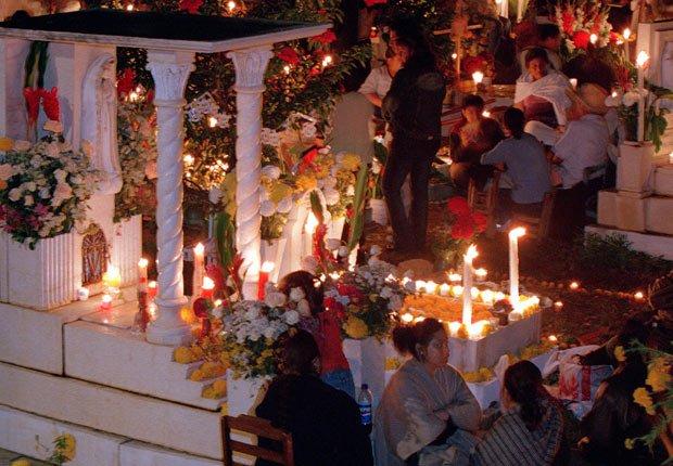 Celebración del Día de los Muertos en Puebla, México - 11 Vacaciones de otoño en las que usted nunca pensó