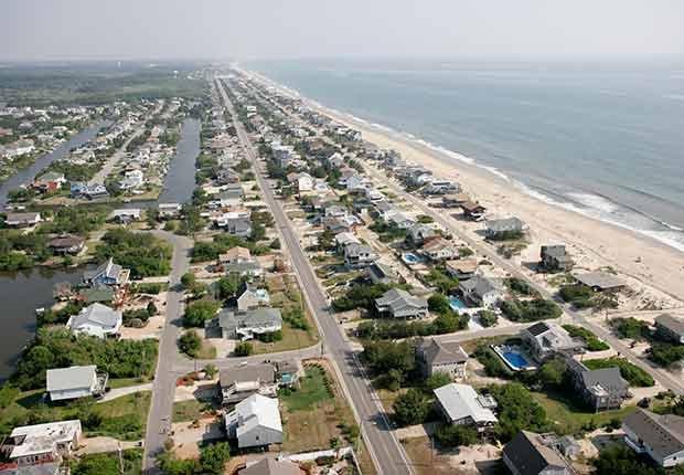 Playas recónditas en Estados Unidos - Sandbridge Beach