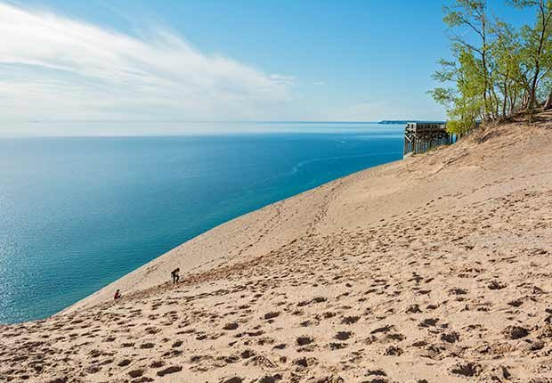 Playas recónditas en Estados Unidos - Sleeping Bear Dunes National Lakeshore