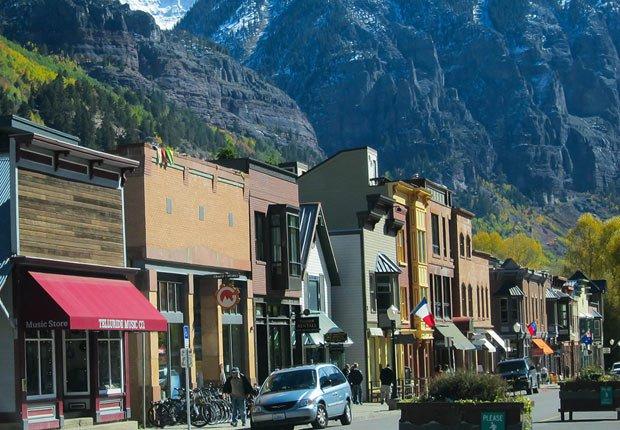 Telluride, Colorado - Las mejores cuidades pequeñas en Estados Unidos