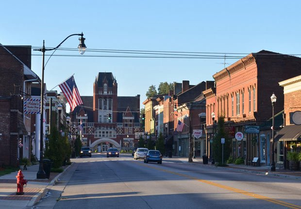 Bardstown, Kentucky - Las mejores cuidades pequeñas en Estados Unidos
