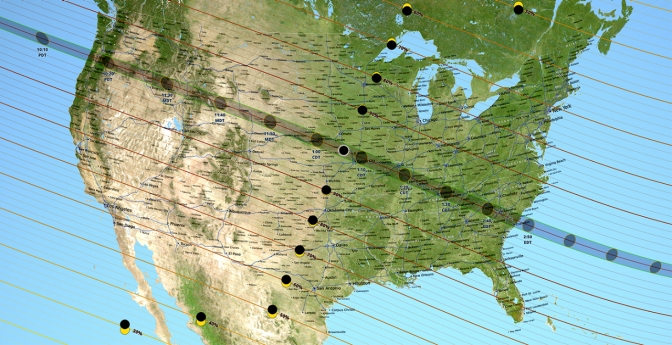 Path of Solar Eclipse