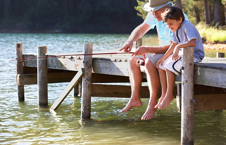 10 Family-Friendly Fishing and Boating Spots