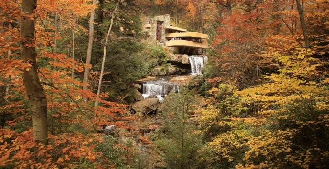 Fallingwater in Mill Creek, Pennsylvania