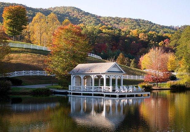 Samantha Brown's Top Picks for Fall Foliage - Blackberry Farm, Walland, Tennessee