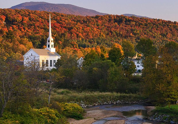Samantha Brown's Top Picks for Fall Foliage - Stowe, Vermont