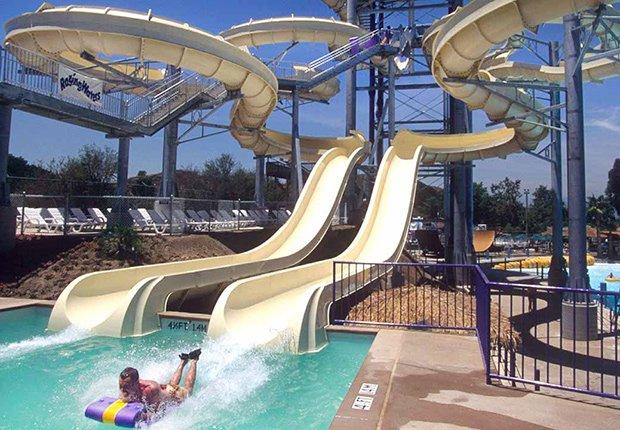 Raging Waters Theme Park, 10 Best Waterparks in America