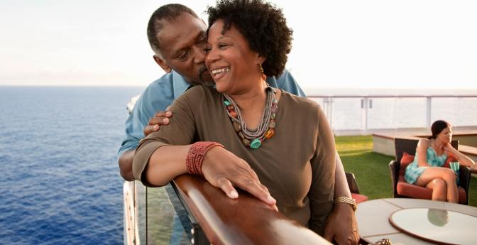 Couple on cruise