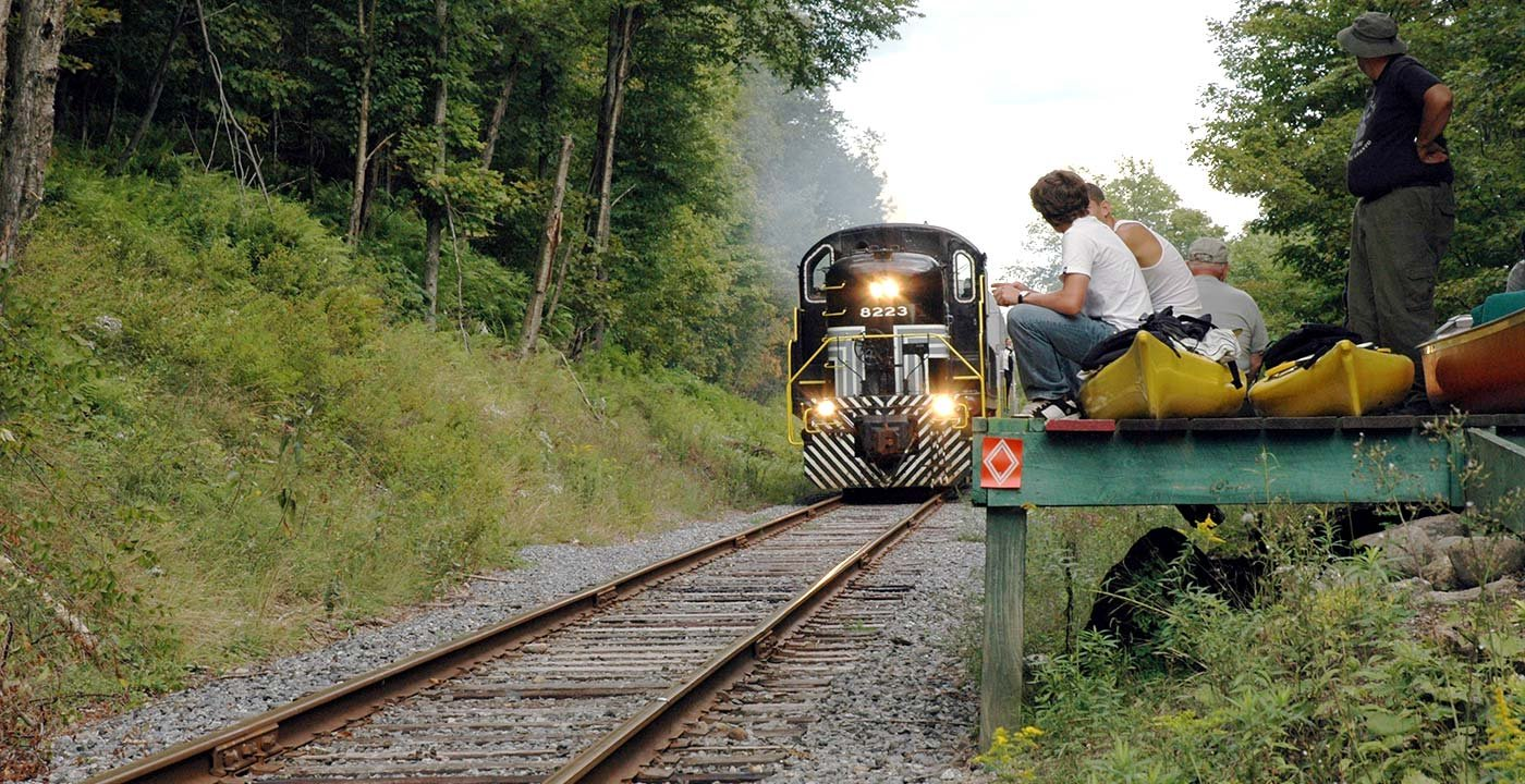 adirondack mountain rail way journey