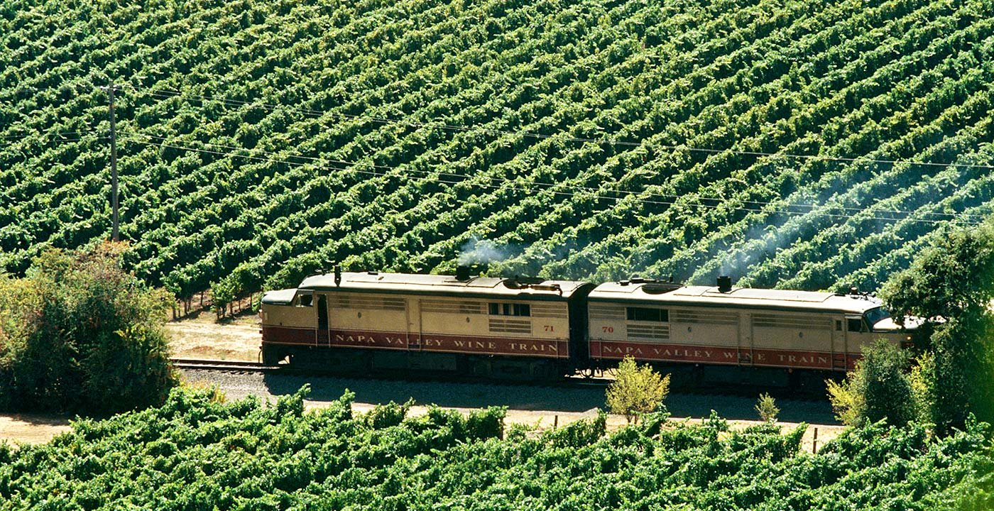 Napa Valley Wine Train, California