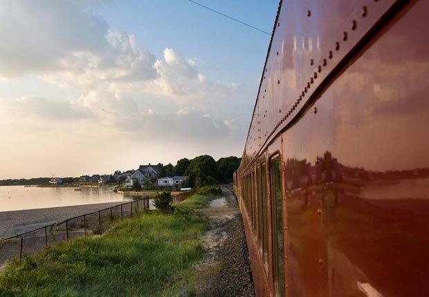 Tranvia Cape Cod Cental, Massachusetts - Los 10 mejores viajes en tren para este otoño en Estados Unidos