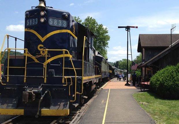 Tranvia Hocking Valley, Ohio - Los 10 mejores viajes en tren para este otoño en Estados Unidos