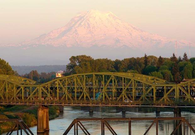 Tranvia Mt. Rainer Scenic y museo - Los 10 mejores viajes en tren para este otoño en Estados Unidos