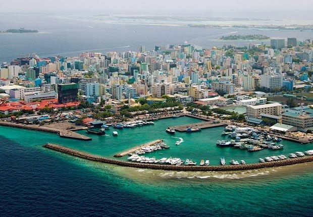 Male, la capital de las Maldivas, 10 maravillas naturales para ver ahora, antes que desaparezcan
