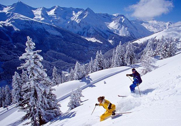 Esquiar en los Alpes, 10 maravillas naturales para ver ahora, antes que desaparezcan