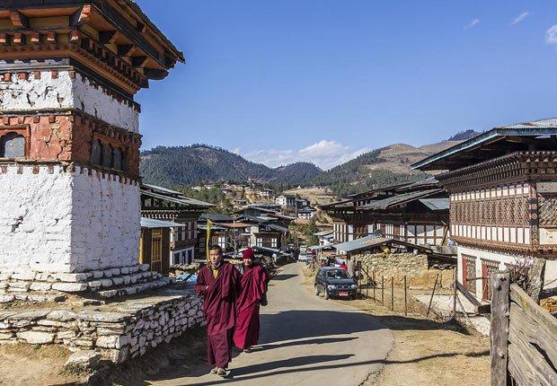 Phobjikha Valley, Bhutan - 10 lugares donde ir este otoño