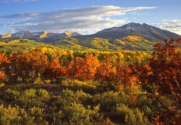 Aspen en Colorado, 10 mejores viajes para el otoño