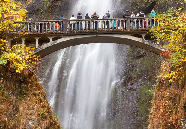 Columbia river gorge en Oregon, 10 mejores viajes para el otoño