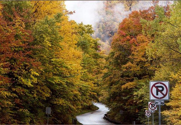 Green mountain byway en Vermont, 10 mejores viajes para el otoño