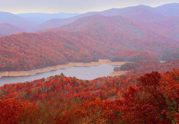Montañas Great Smoky en Tennessee, 10 mejores viajes para el otoño