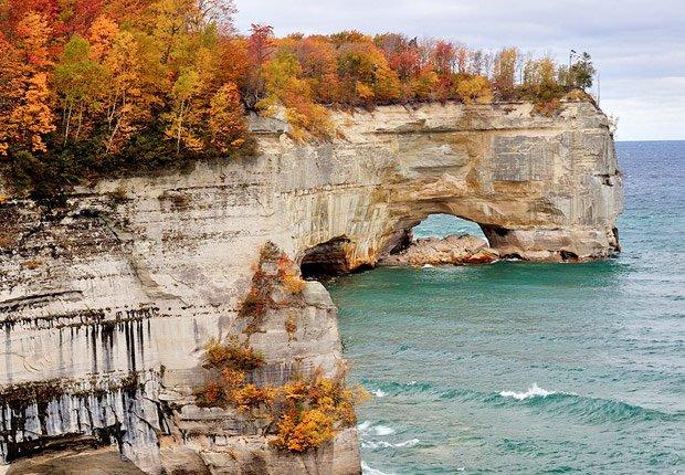 Upper peninsula en Michigan, 10 mejores viajes para el otoño