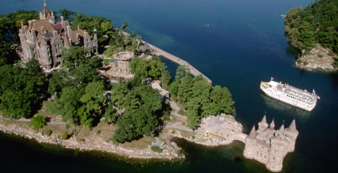 Boldt Castle, Heart Island, Thousand Islands, New York