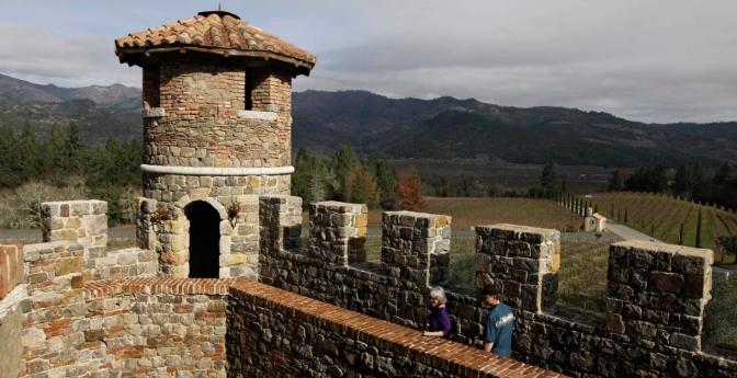 Castello di Amorosa, Calistoga, California