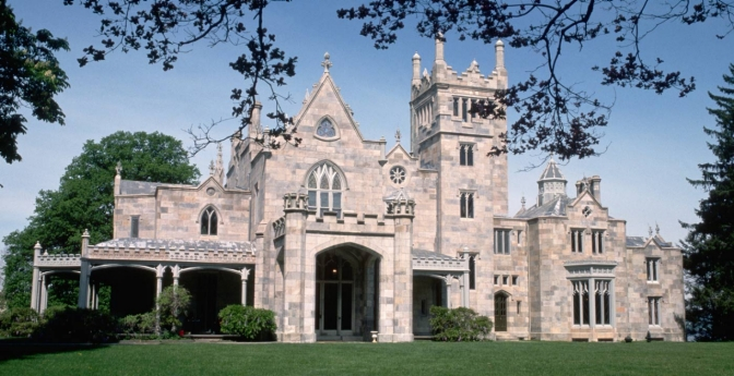 Lyndhurst Castle, Tarrytown, New York