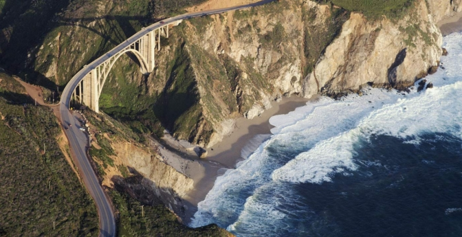Bixby Creek Bridge, Big Sur, California