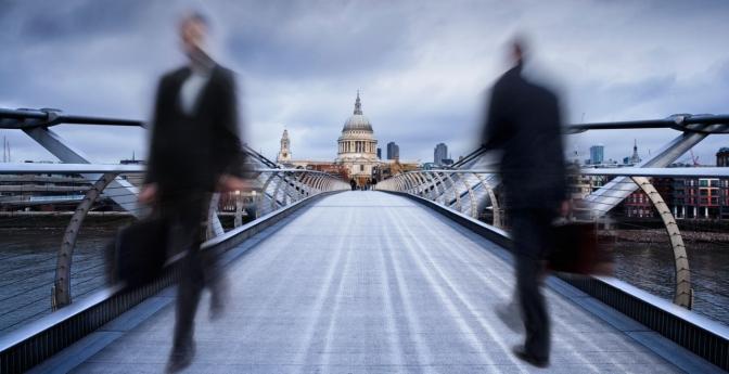 Millennium Footbridge: London