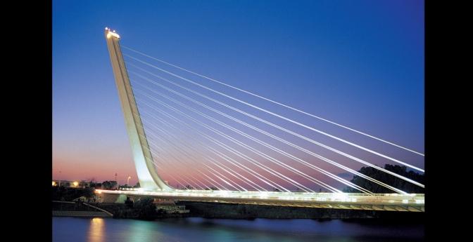 Puente del Alamillo, Seville, Spain