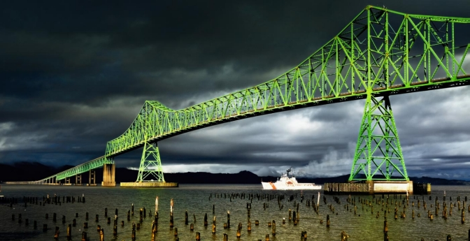 Astoria-Megler Bridge, Oregon and Washington