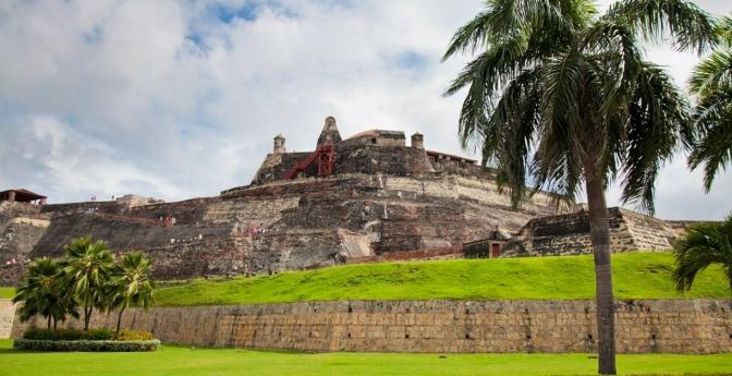 San Felipe Castle, Cartagena, Colombia