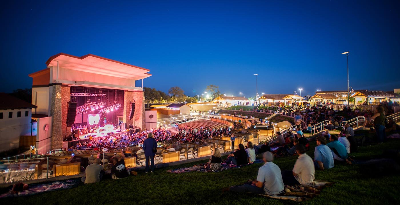 8 Outdoor Music Venues