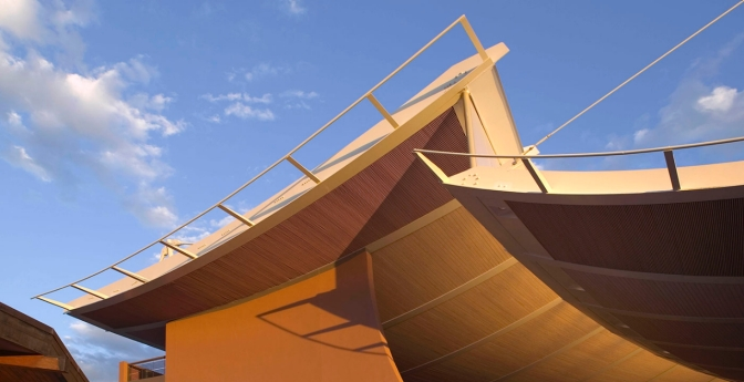 Santa Fe Opera's Crosby Theatre, New Mexico
