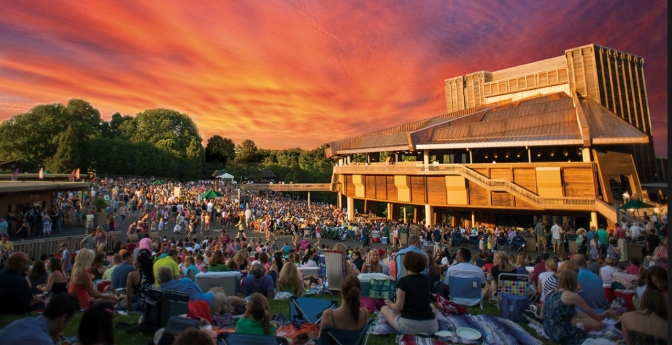 Filene Center at Wolf Trap National Park for the Performing Arts, Virginia