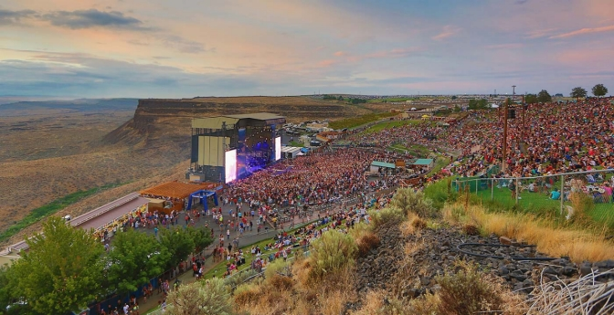The Gorge Amphitheatre in George, Washington