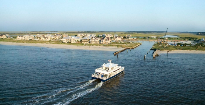 Bald Head Island Ferry, North Carolina