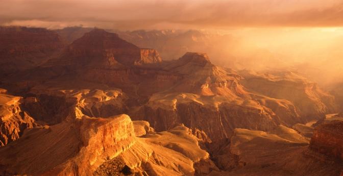 Reddest Sunset: Grand Canyon, Arizona