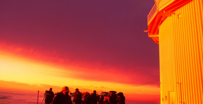 Last Sunset: Mauna Kea, Hawaii