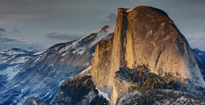 Sneakiest Sunset: Yosemite Valley, California